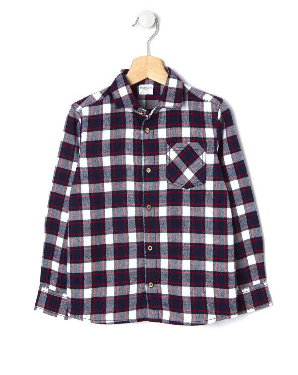 Camicia scozzese in flanella - Prénatal