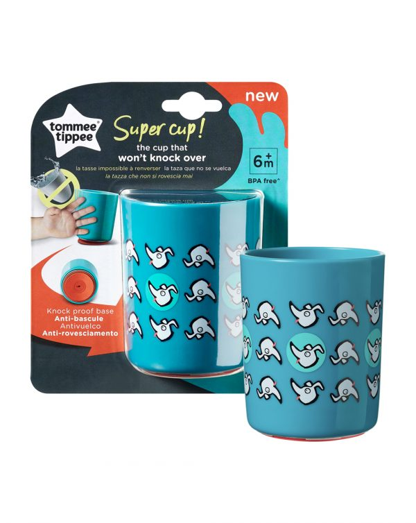 Supercup 190ml 12m+ blu - Tommee Tippee