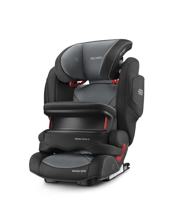 Monza Nova Is carbon black (gr.1/2/3) - Recaro