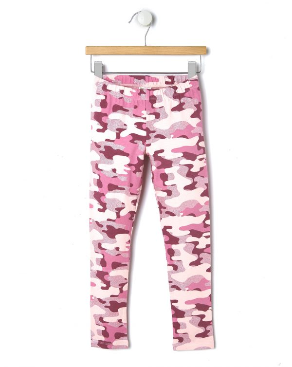 Leggings mimetici rosa - Prénatal