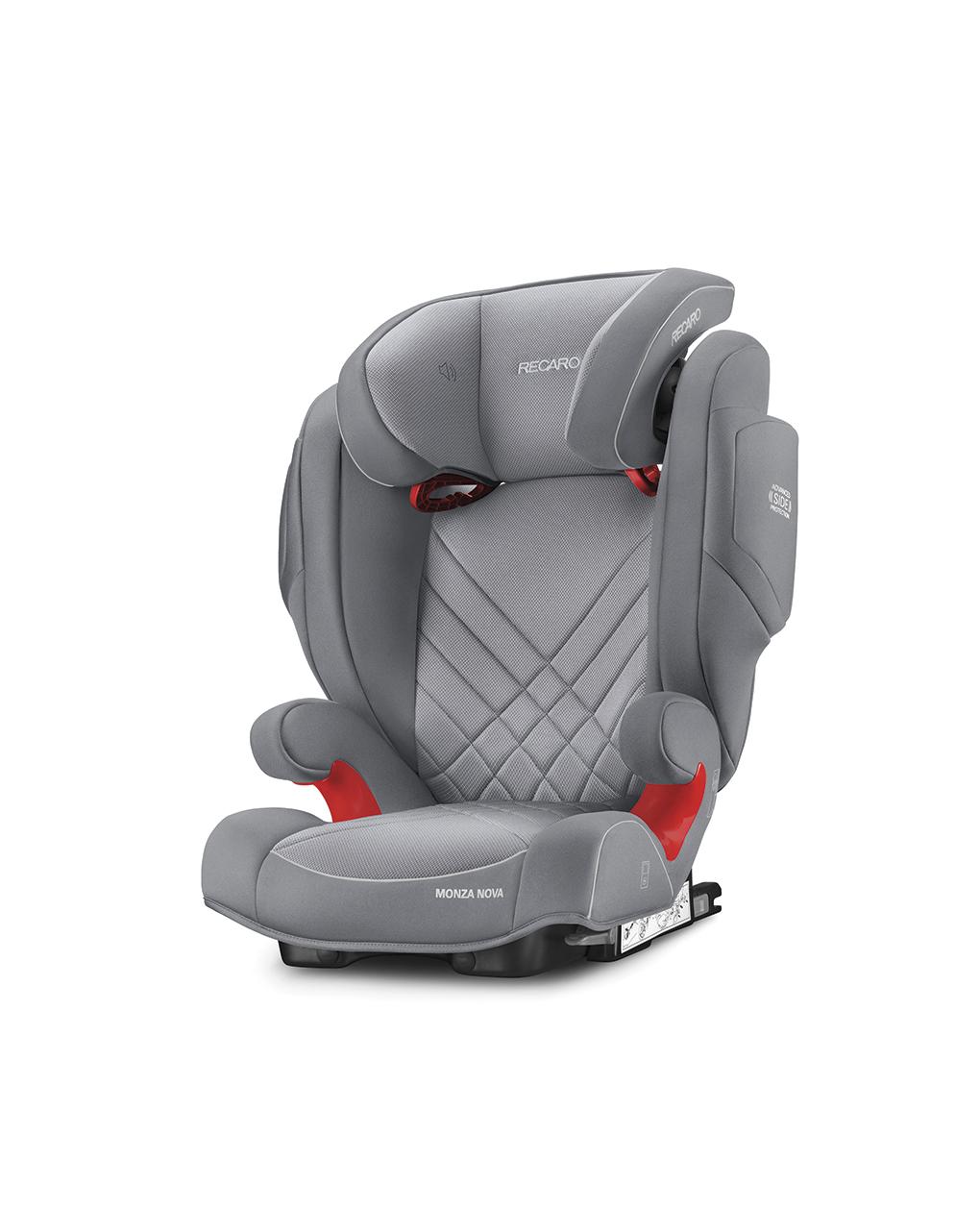 Recaro monza nova 2 seatfix aluminum grey (gr. 2/3) - Recaro