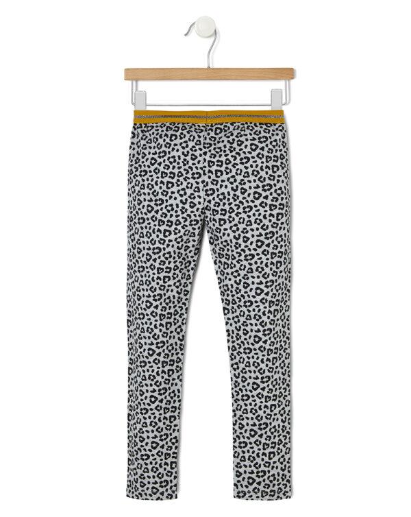 Leggings in jersey con fantasia leopardata - Prénatal