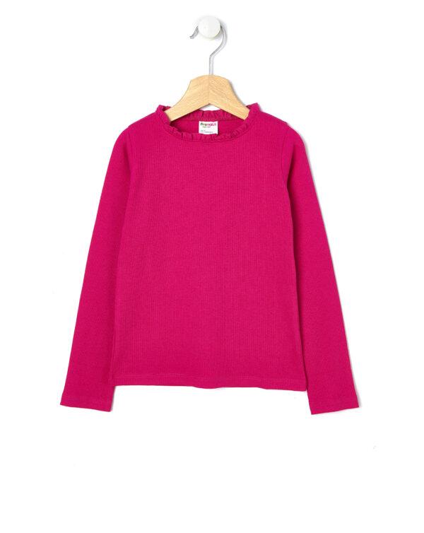 T-shirt manica lunga a costine - Prénatal