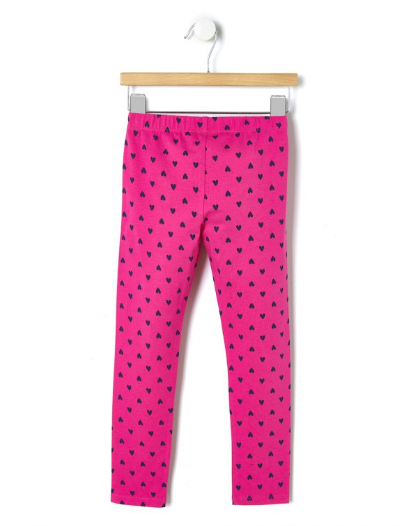 Leggings stretch con stampa all-over - Prénatal