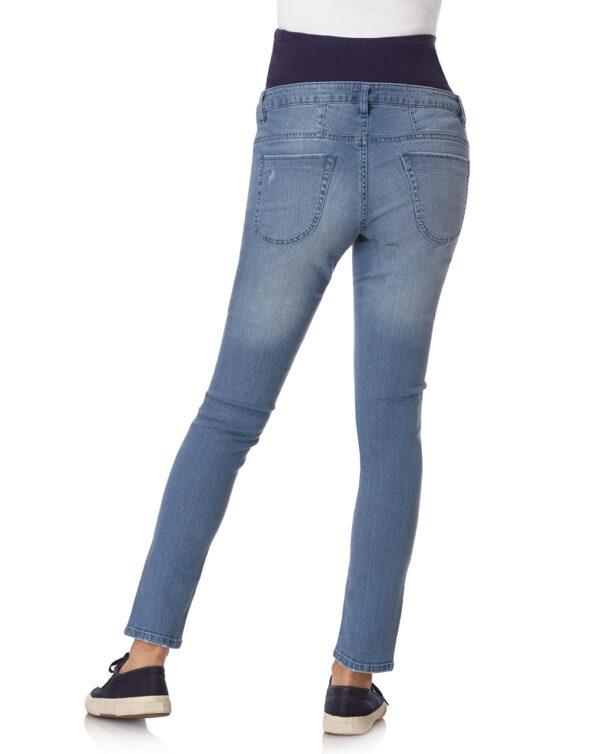 Pantalone skinny in denim con strass - Prénatal
