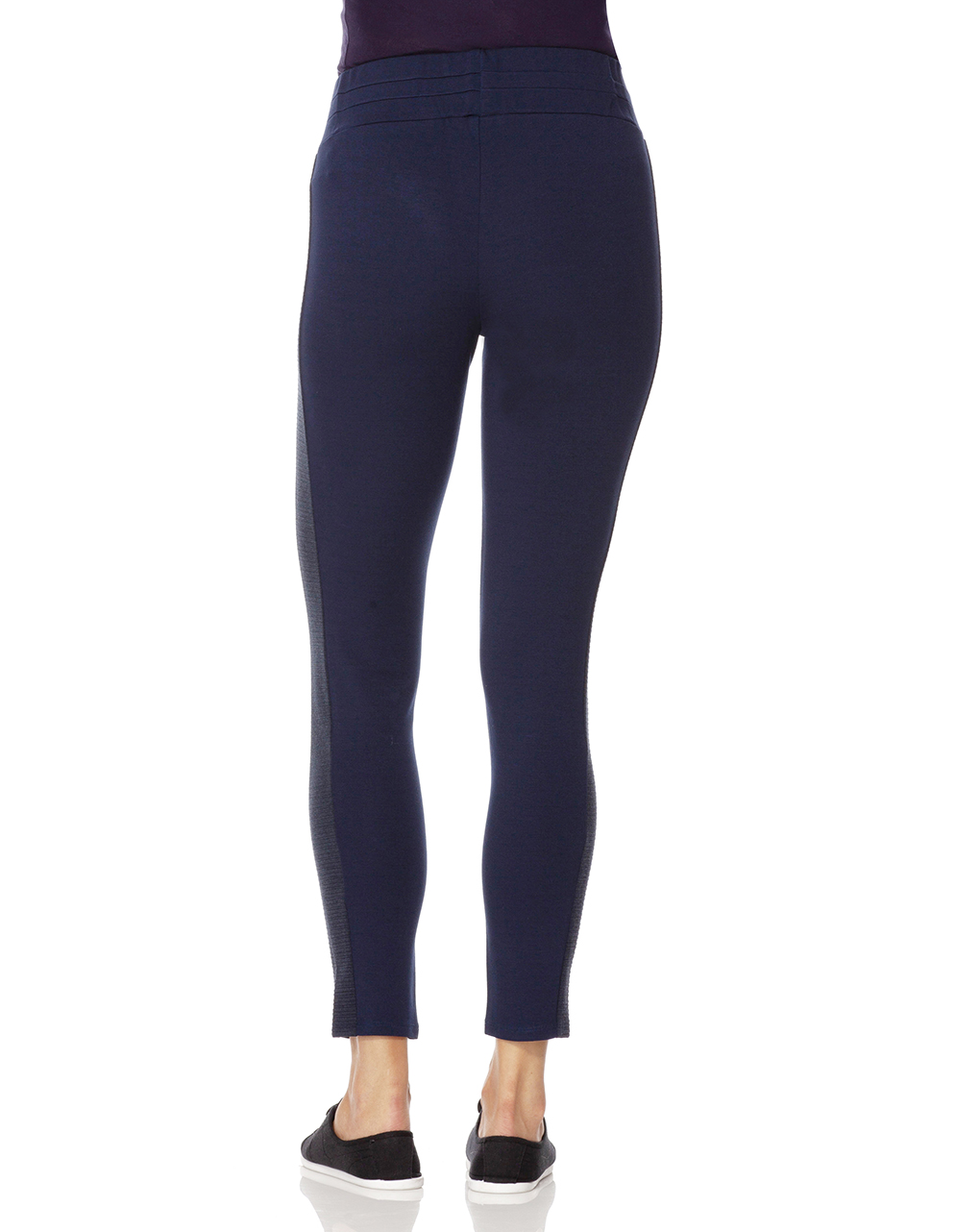 Leggings a punto milano blu scuro - Prénatal