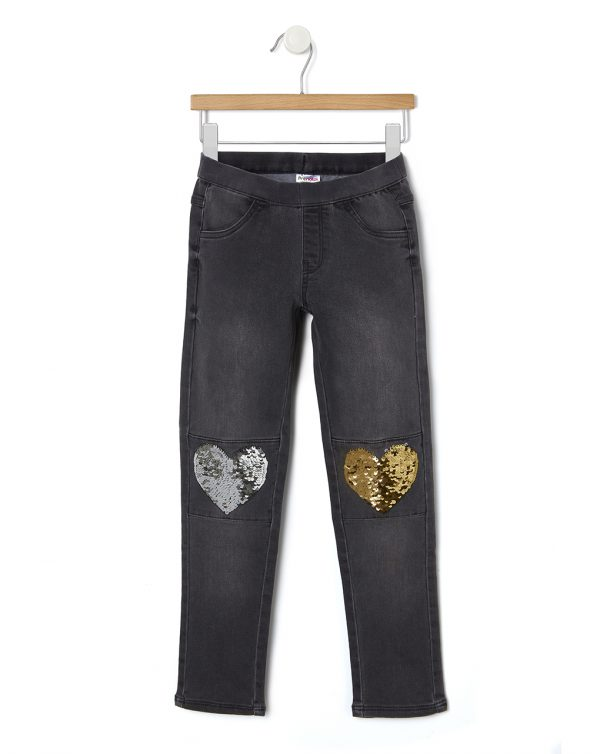 Pantalone denim con paillettes magiche - Prénatal