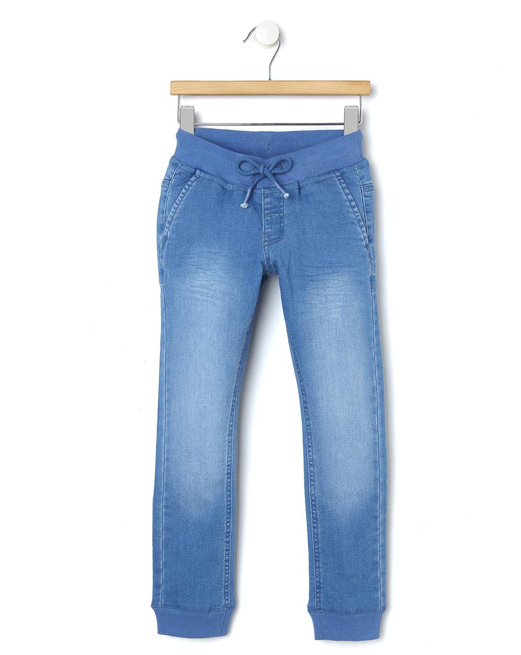 Pantalone denim con polsini al fondo - Prénatal