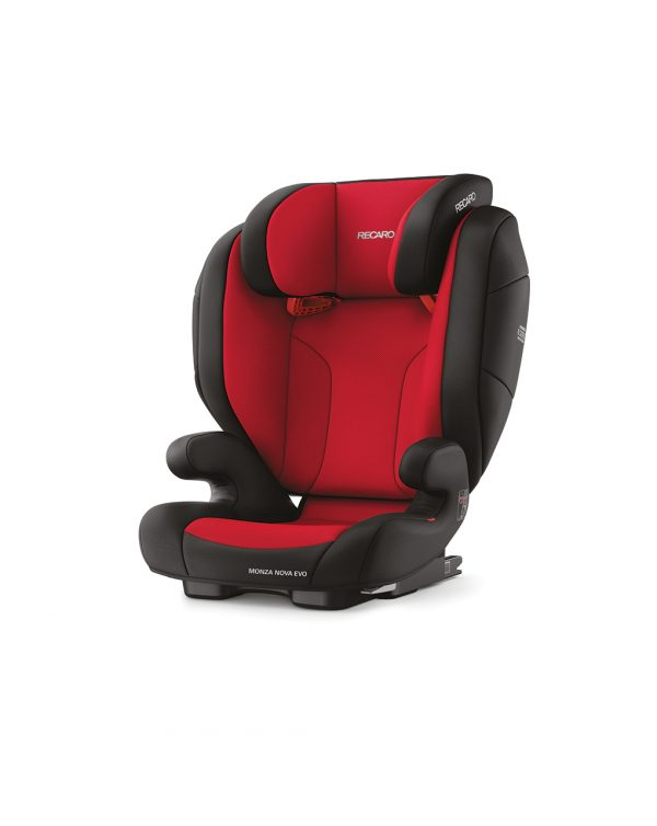 Monza Nova Evo Seatfix racing red (Gr. 2/3) - Recaro