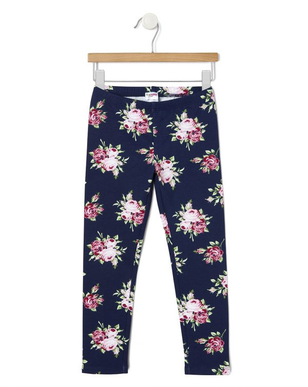 Leggings felpa con stampa floreale - Prénatal