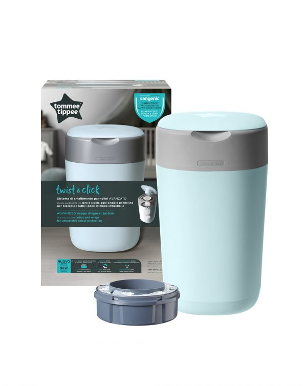 Twist&Click contenitore azzurro - Tommee Tippee