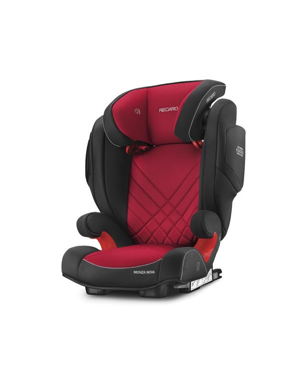 Monza Nova 2 Seatfix racing red (Gr. 2/3) - Recaro