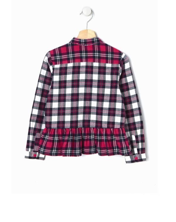 Camicia tartan con paillettes - Prénatal