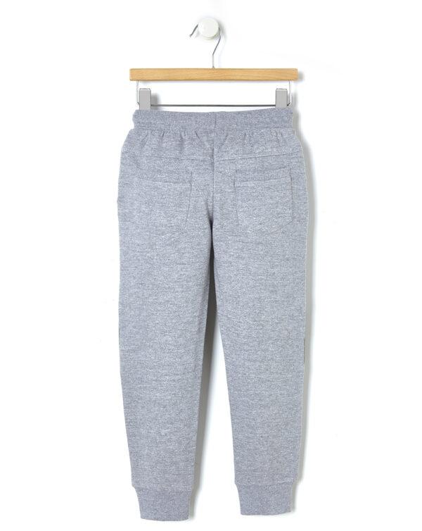 Pantalone in felpa con scritta in rilievo - Prénatal