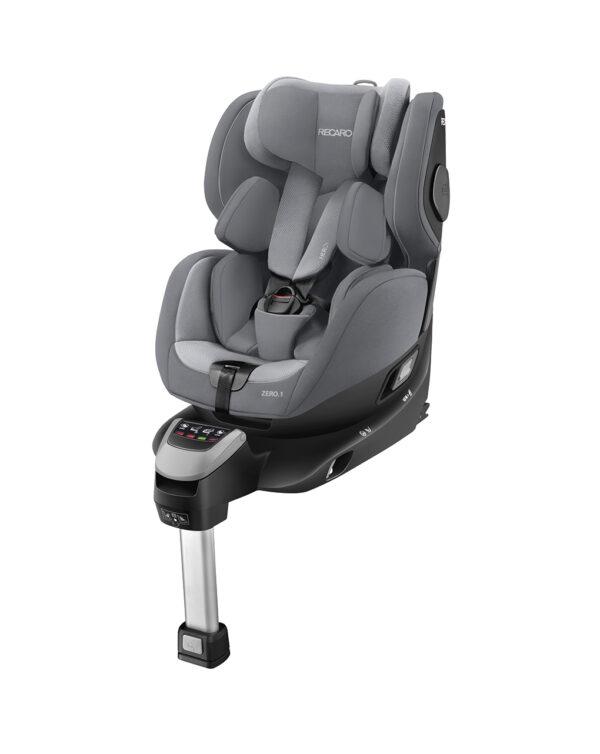 Zero.1 I-Size aluminium grey - Recaro