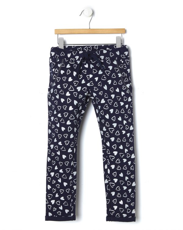 Pantalone in felpa con stampa all-over - Prénatal