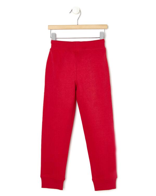 Pantaloni in felpa rossa con tasche - Prénatal