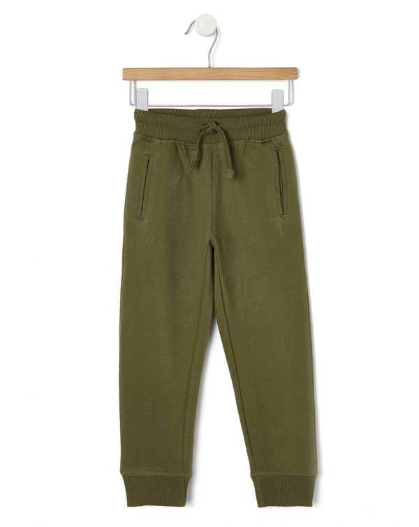 Pantaloni in felpa verde militare - Prénatal