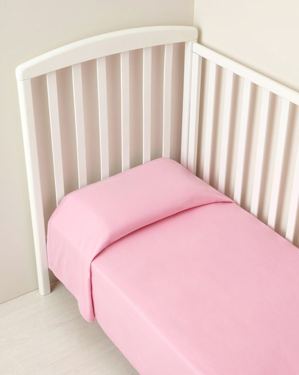 Coperta letto cotone rosa - Prénatal