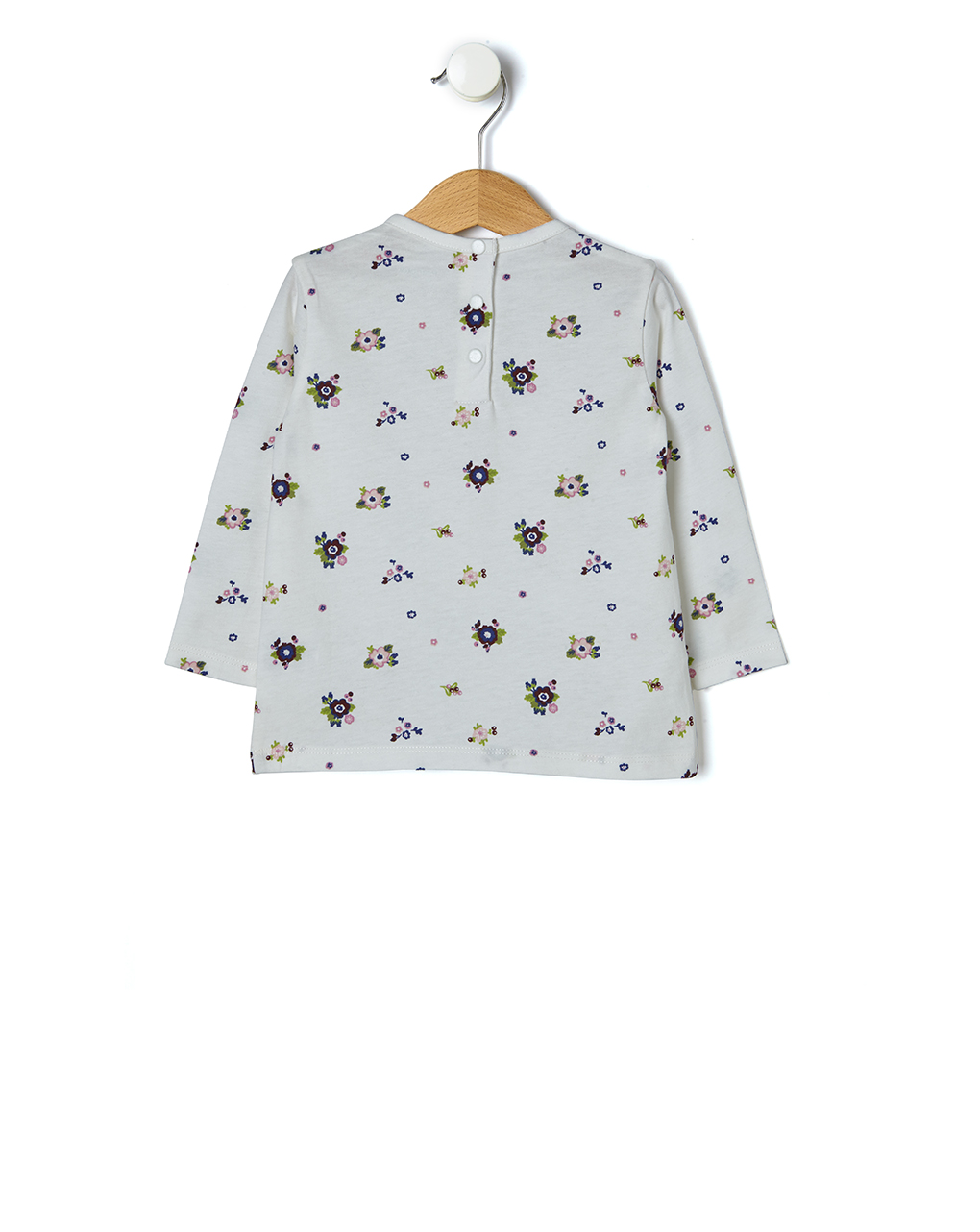 T-shirt manica lunga con stampa all-over - Prénatal