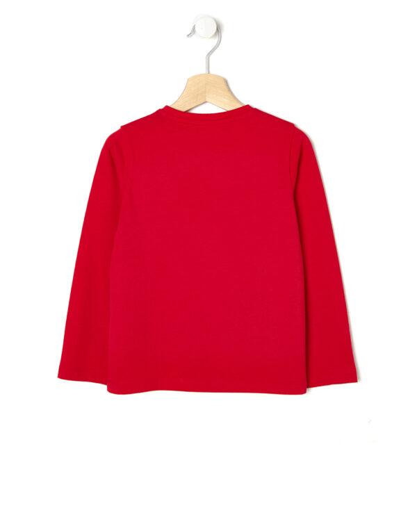 T-shirt rossa maniche lunghe - Prénatal