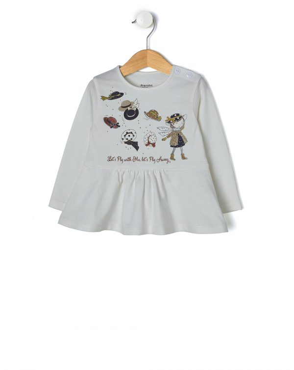 T-shirt con stampa cappelli - Prénatal