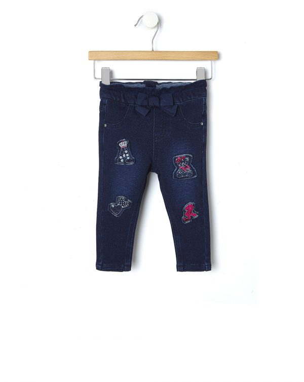Pantalone in felpa con patch - Prénatal