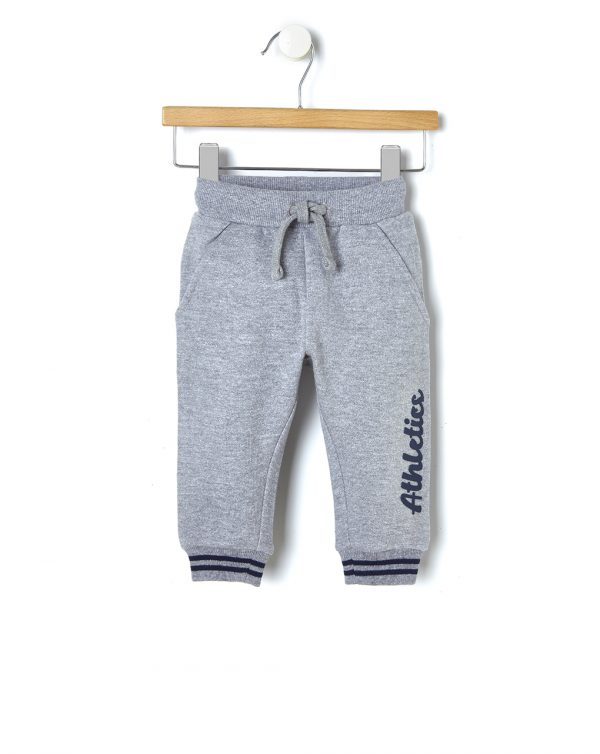 Pantalone in felpa con stampa gommata - Prénatal