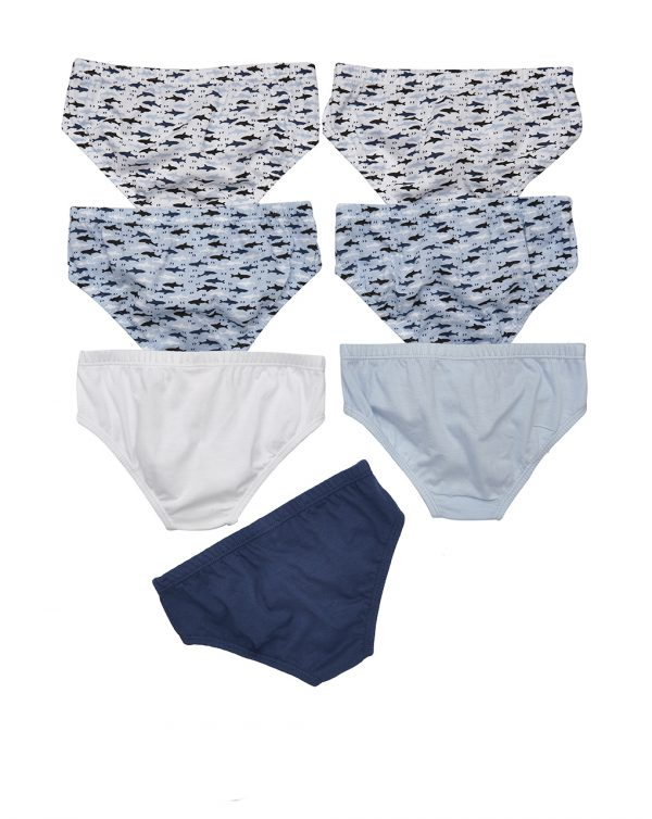 Pack 7 slip con stampa squali - Prénatal