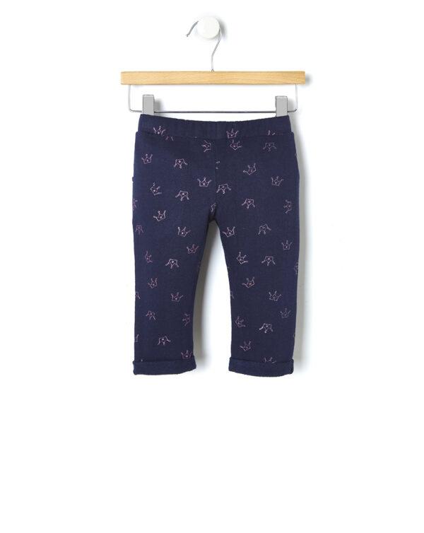 Pantaloni in felpa con stampa glitter - Prénatal