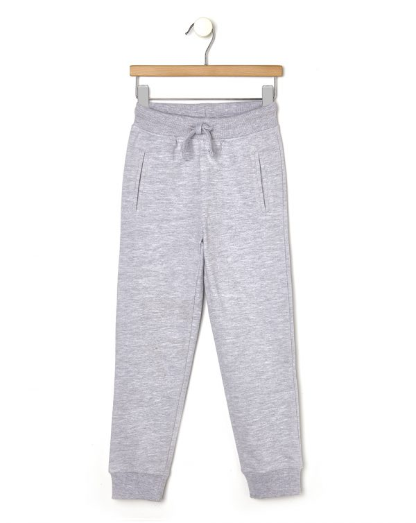 Pantaloni in felpa grigio chiaro mélange con tasche - Prénatal