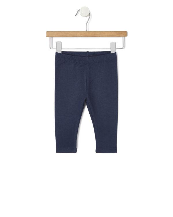Leggings in felpina blu scuro - Prénatal