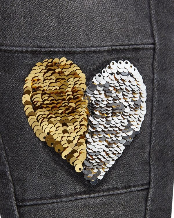 Pantaloni in denim con pallettes - Prénatal
