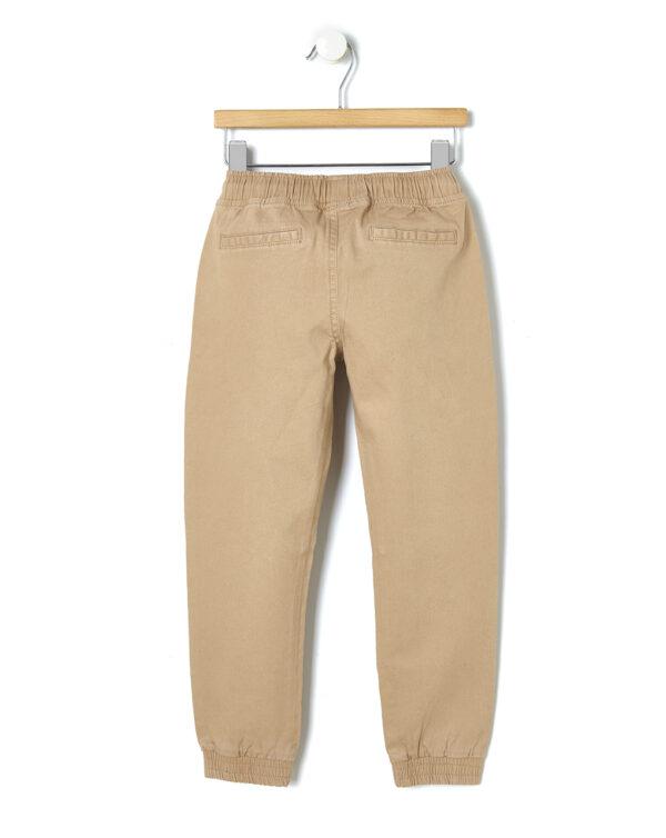 Pantalone in twill beige - Prénatal