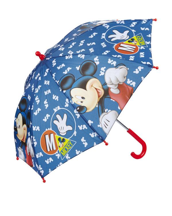 Ombrello blu con stampa Mickey Mouse - Prénatal