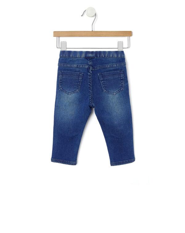 Pantaloni denim con pailletes - Prénatal