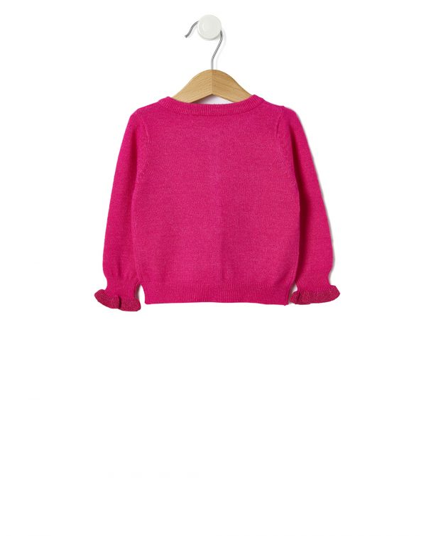 Cardigan tricot con lurex - Prénatal