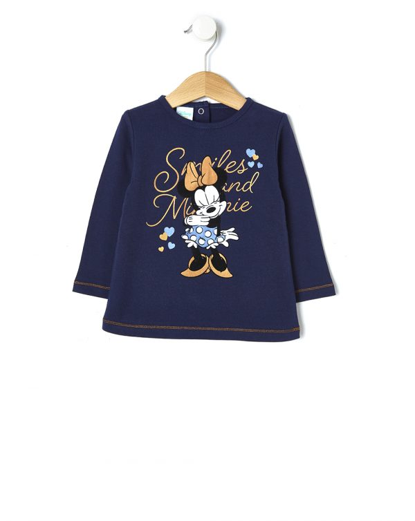 T-shirt in jersey con stampa Minnie - Prénatal