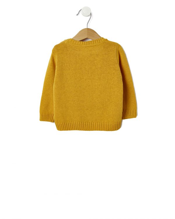 Maglia tricot con stampa tigre - Prénatal