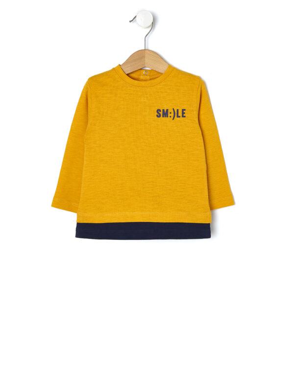 T-shirt slub con stampa - Prénatal