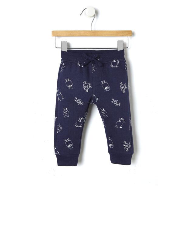 Pantaloni in felpa con stampa all-over - Prénatal