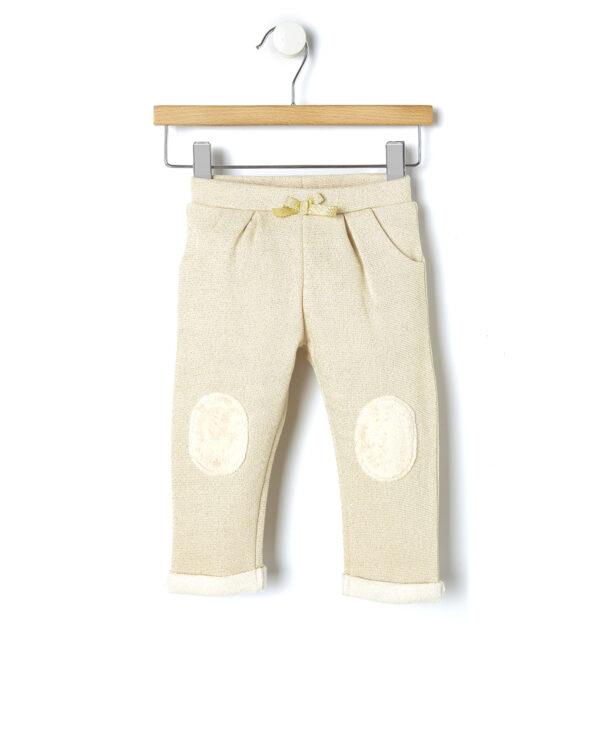 Pantalone in felpa con inserti in pelo - Prénatal