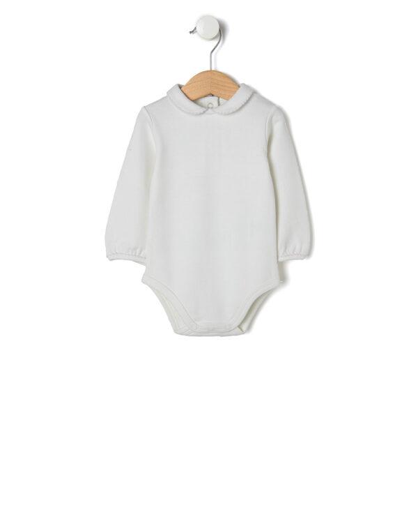 Set 3 pezzi scamiciato, body e cardigan tricot - Prénatal