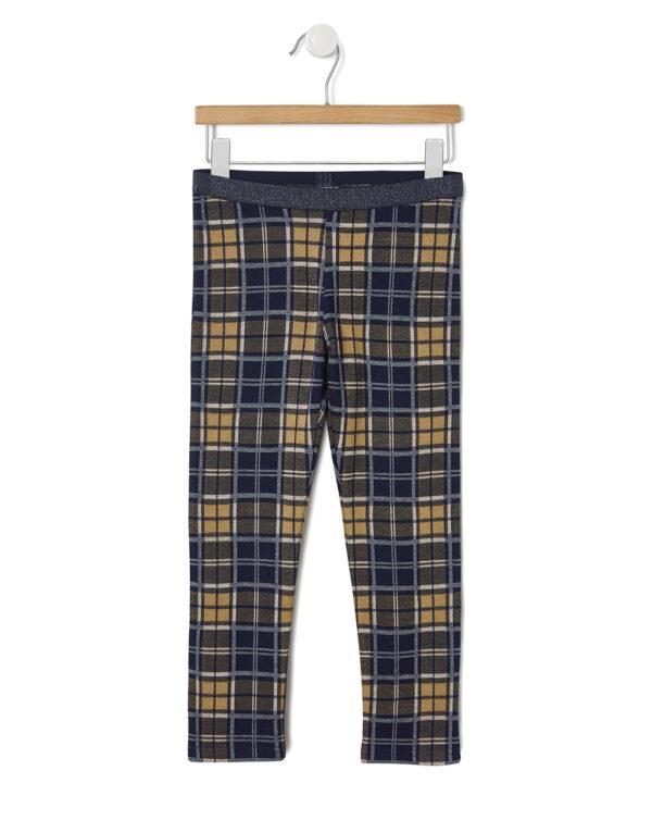 Pantalone con fantasia a quadri - Prénatal