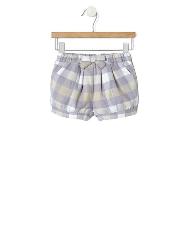 Shorts a palloncino con fantasia a quadri - Prénatal