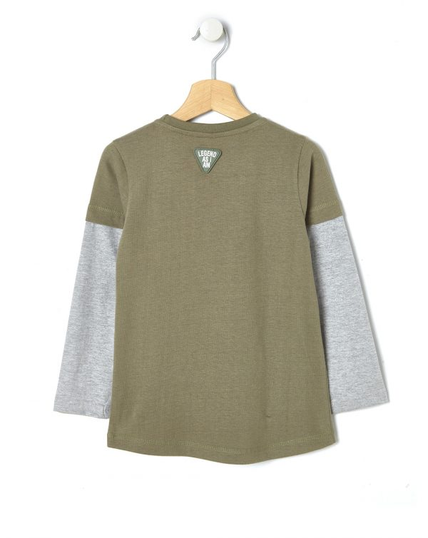 T-shirt con stampa lupo - Prénatal