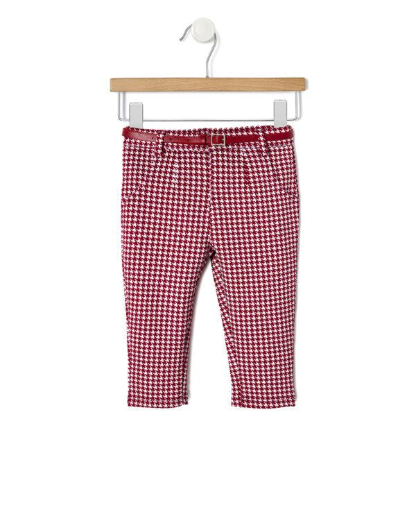 Pantalone con fantasia pied de poule - Prénatal