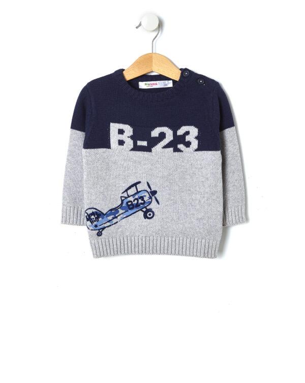 Maglia tricot con stampa - Prénatal