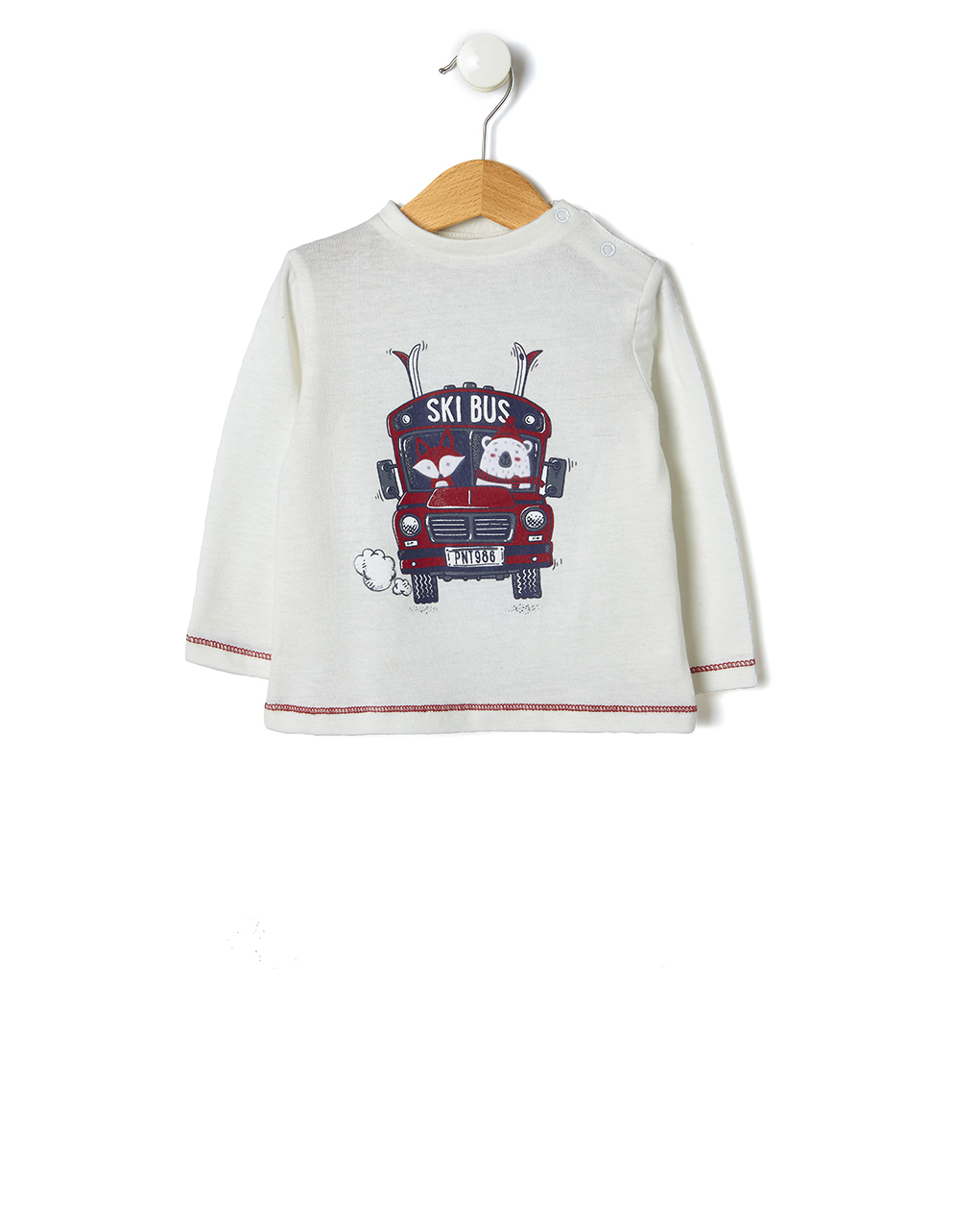 T-shirt con stampa bus - Prénatal