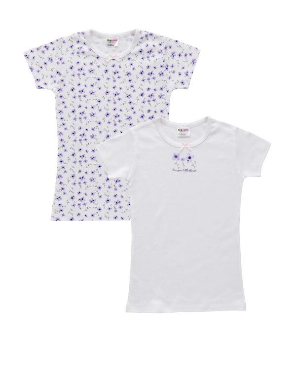 T-shirt mezza manica con stampa fiori - Prénatal